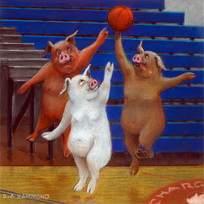 White Pigs Can't Jump