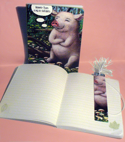 "Journal ""Happy as a Pig in Shitakes"""
